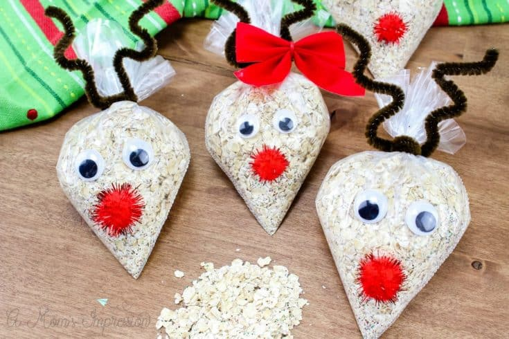 Fun Holiday Kids Craft: Oatmeal Reindeer Food Recipe