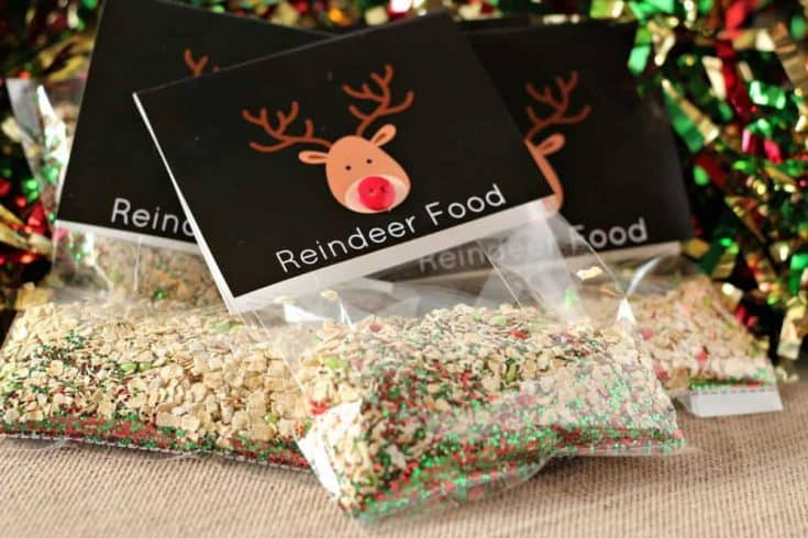 """Magic"" Reindeer Food Printable - Saving Dollars & Sense"