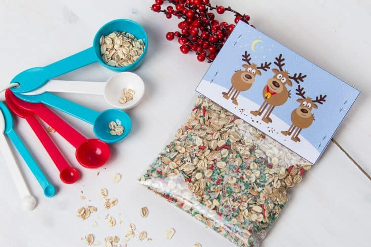 Reindeer Food Recipe And Poems