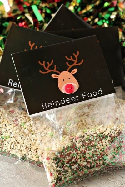 Reindeer Food [recipe + printable]