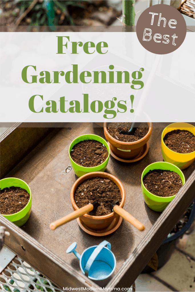 Free Garden catalog