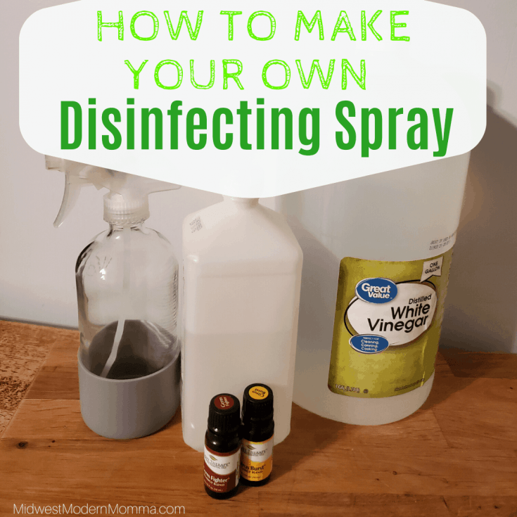 DIY Disinfecting Spray