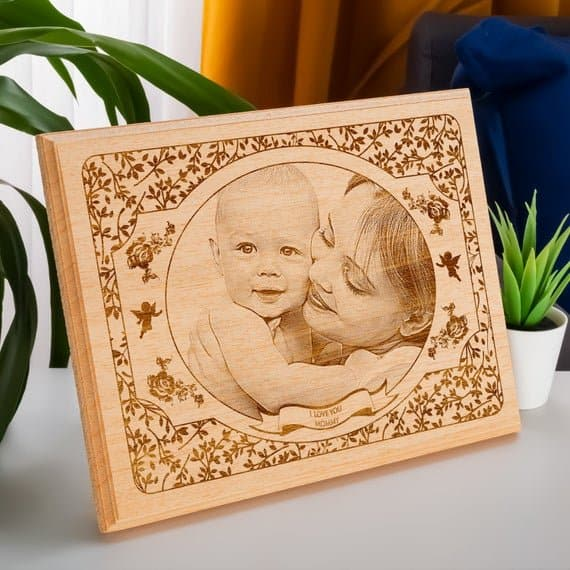 Happy Mother's Day Custom Wood Frame